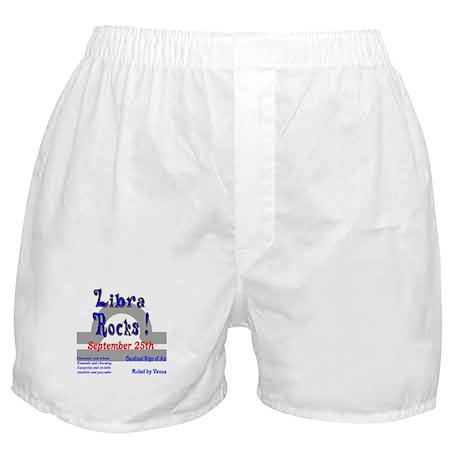 Libra September 25th Boxer Shorts