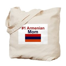 #1 Armenian Mom Tote Bag