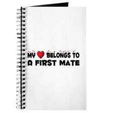 Belongs To A First Mate Journal