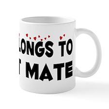 Belongs To A First Mate Mug