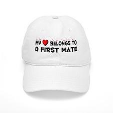 Belongs To A First Mate Baseball Cap