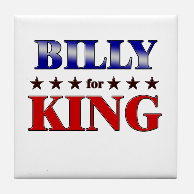 BILLY for king Tile Coaster