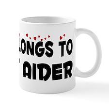 Belongs To A First Aider Mug