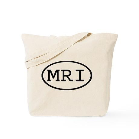 MRI Oval Tote Bag