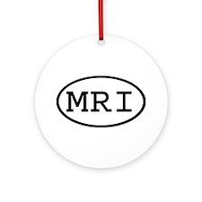 MRI Oval Ornament (Round)