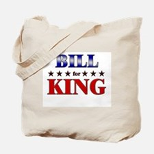 BILL for king Tote Bag