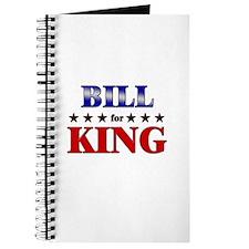 BILL for king Journal