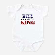 BILL for king Infant Bodysuit