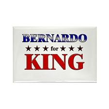 BERNARDO for king Rectangle Magnet