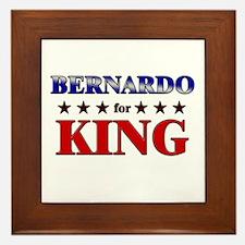 BERNARDO for king Framed Tile