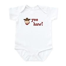Yee Haw Cowboy Infant Bodysuit