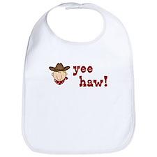 Yee Haw Cowboy Bib