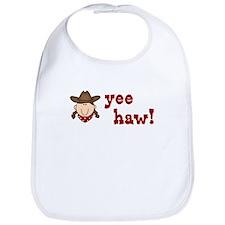 Yee Haw Cowgirl Bib