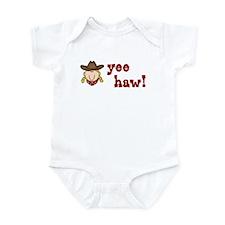 Yee Haw Cowgirl Infant Bodysuit