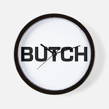 Butch Wall Clock