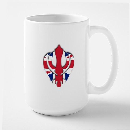 British khanda Large Mug