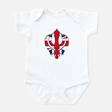 British khanda Infant Bodysuit