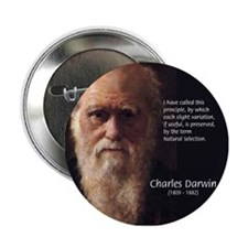 Charles Darwin: Evolution Button
