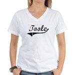 Toole (vintage) Women's V-Neck T-Shirt