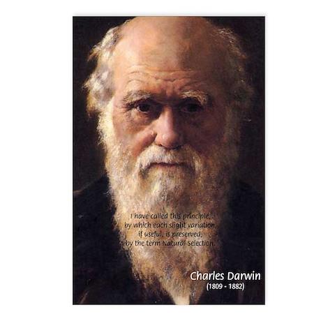 Charles Darwin: Evolution Postcards (Package of 8)