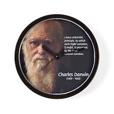 Charles Darwin: Evolution Wall Clock