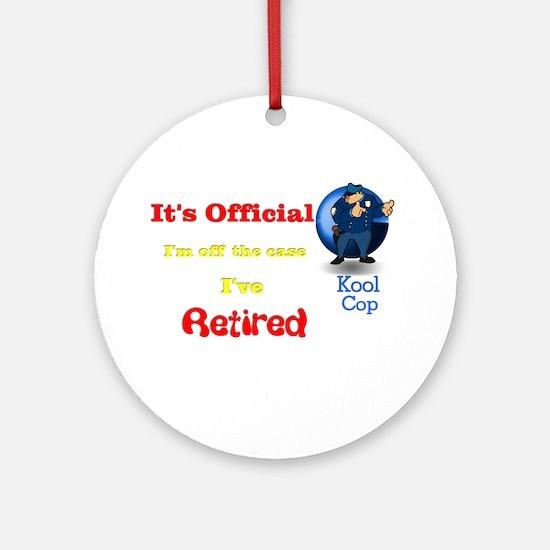 Kool Cop. Ornament (Round)