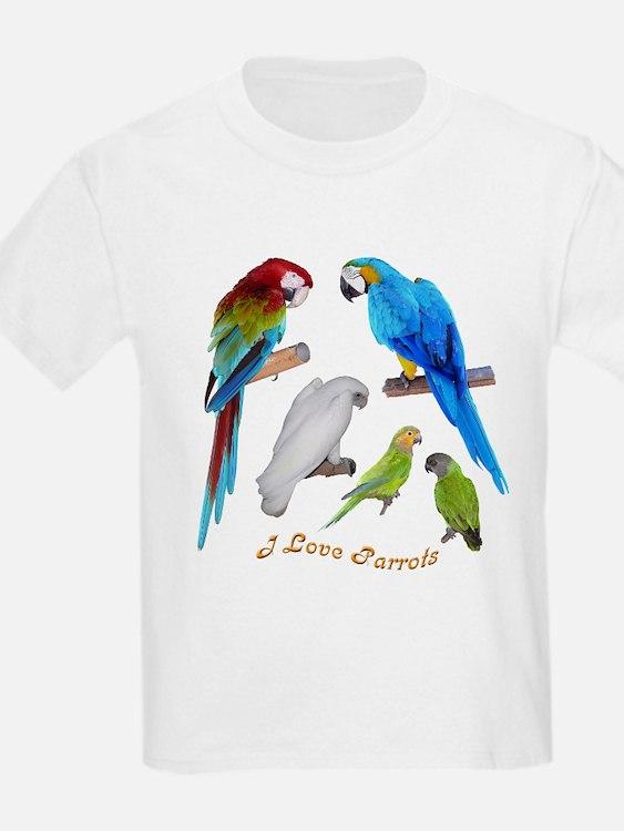 I love Parrots T-Shirt