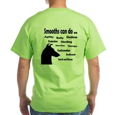 Cute Smooth collies T-Shirt