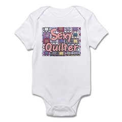 Sexy Quilter Infant Creeper