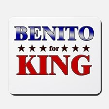BENITO for king Mousepad