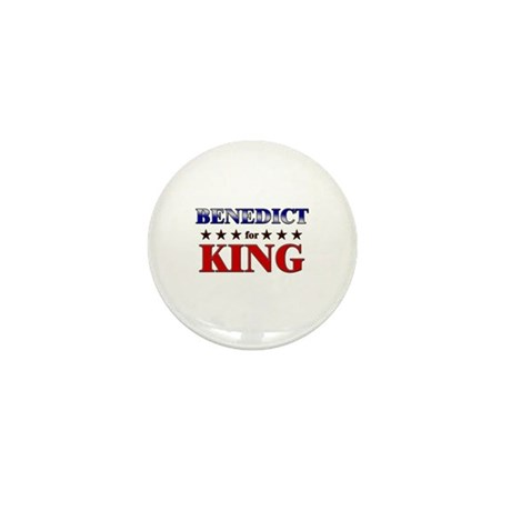 BENEDICT for king Mini Button (10 pack)