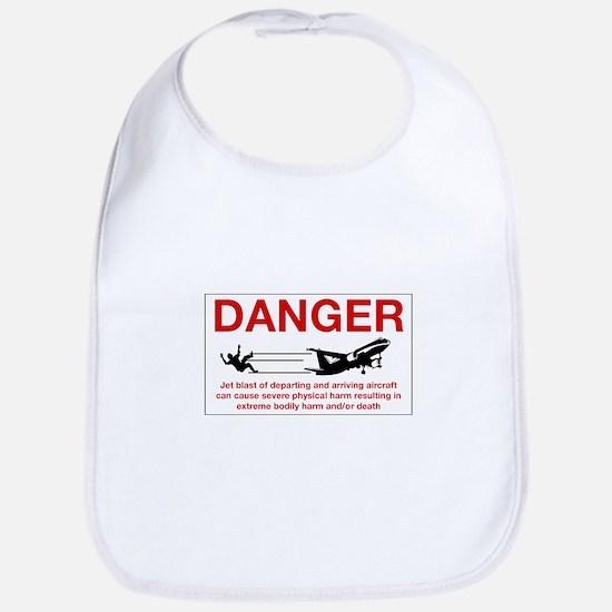 Danger Jet Blast, Netherlands Antilles Bib