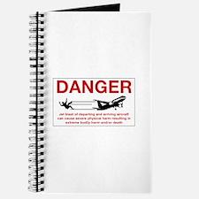Danger Jet Blast, Netherlands Antilles Journal