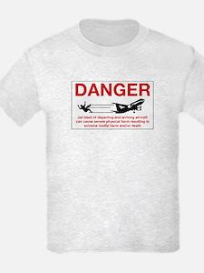 Danger Jet Blast, Netherlands Antilles T-Shirt