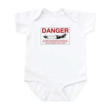 Danger Jet Blast, Netherlands Antilles Infant Body