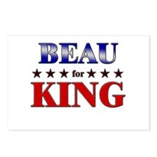 BEAU for king Postcards (Package of 8)