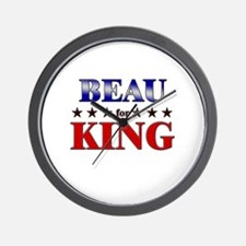 BEAU for king Wall Clock