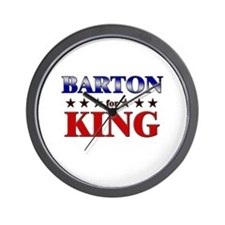 BARTON for king Wall Clock