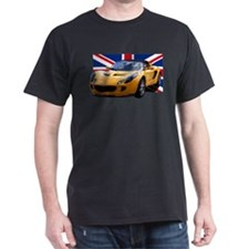 Yellow Elise UK Front only. T-Shirt