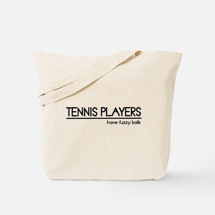 Tennis Player Joke Tote Bag