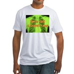 Smokers Laugh Fitted T-Shirt