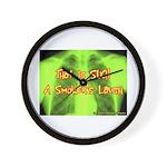 Smokers Laugh Wall Clock