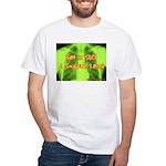 Smokers Laugh White T-Shirt