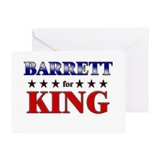 BARRETT for king Greeting Card