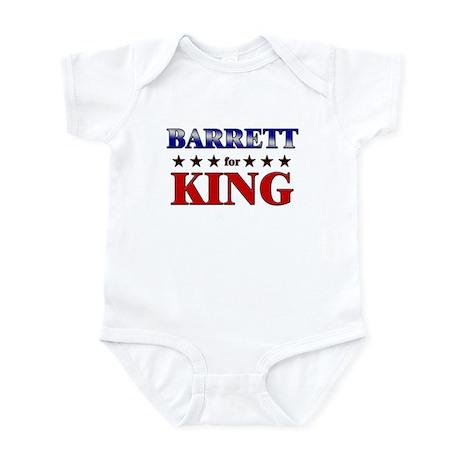 BARRETT for king Infant Bodysuit