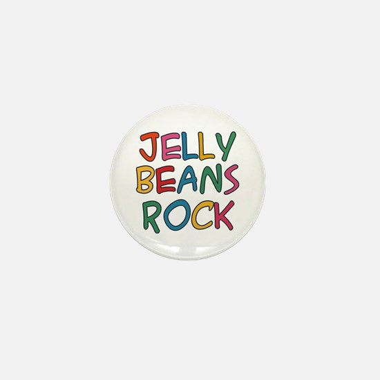 Jelly Beans Rock Mini Button