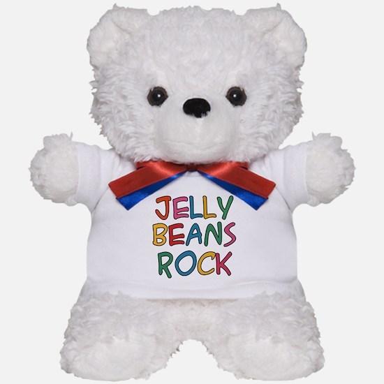 Jelly Beans Rock Teddy Bear