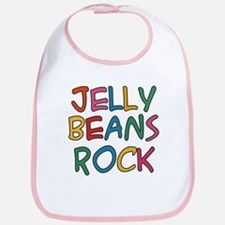 Jelly Beans Rock Bib