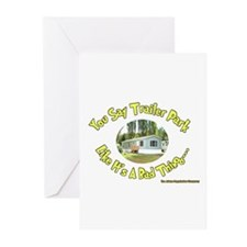 You say Trailer Park Greeting Cards (Pk of 10)