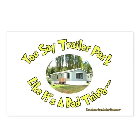 You say Trailer Park Postcards (Package of 8)